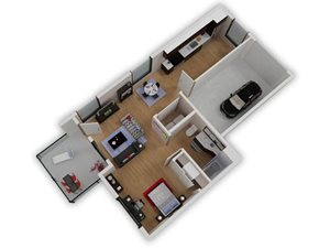 Capitol Yard Apartments_ West Sacramento CA_Floor Plan_Studio 2